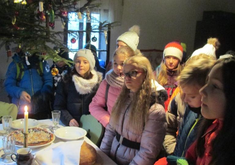 Vánoce na dědině